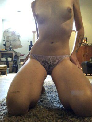 Nina's Lavender Lace Panties