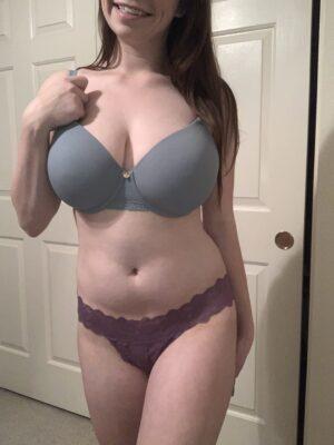 Gracie's Purple Lace Thong