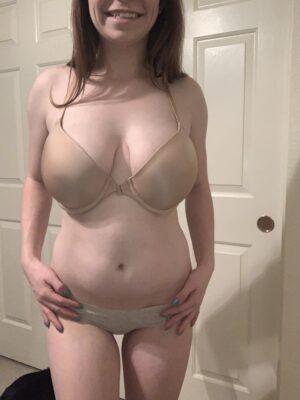 Gracie's Nude & Teal Cheekies