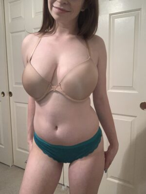 Gracie's Teal Thong