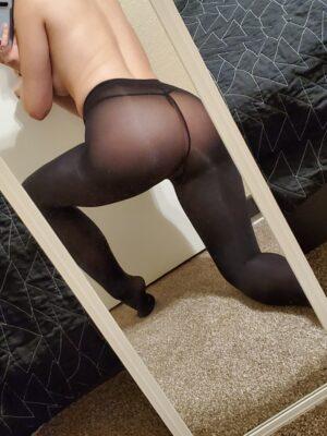Olympia's Black Stockings