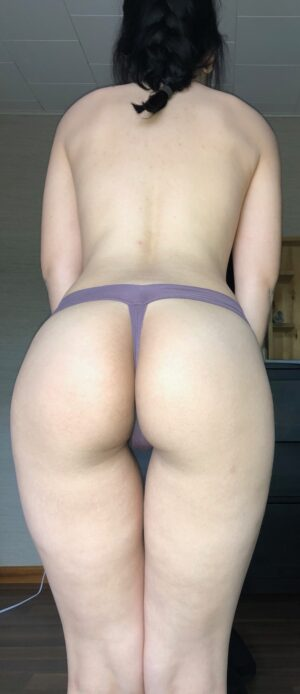Mary's Lavender Thong