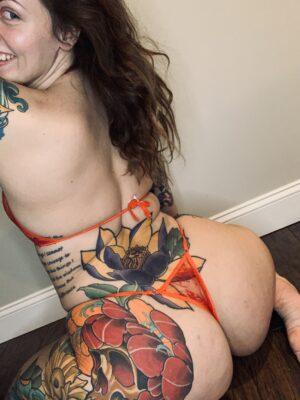 Kate's [SET] Red Bra & Panties