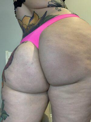 Kate's Hot Pink Thong