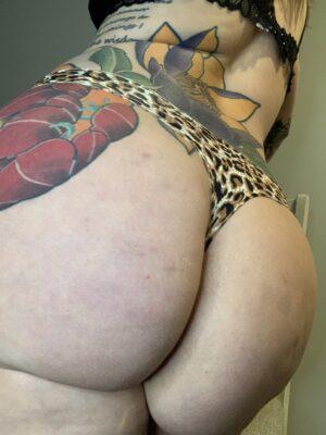 Kate's Cheetah Thong