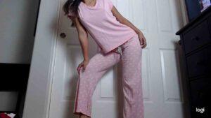 Belle's Pink Pajama Set