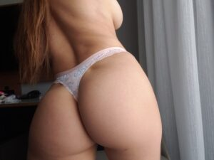Melissa's – Light Pink Floral Thong