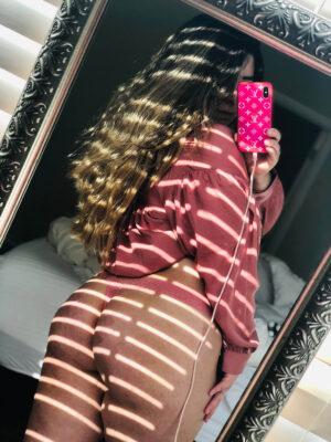 Sophia's Pink Thong