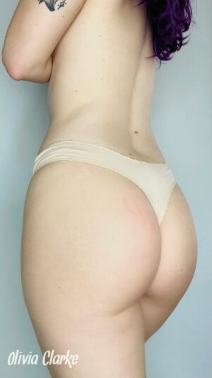 Olivia's Nude w/Lace Thong