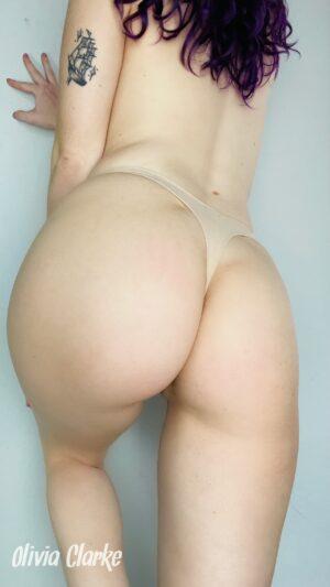 Olivia's Nude Thong