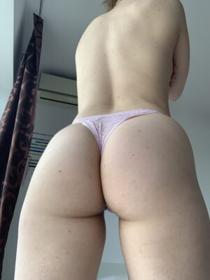 Anna's Pink Lace Thong