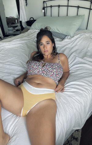 Dahlia's Yellow and White Panties